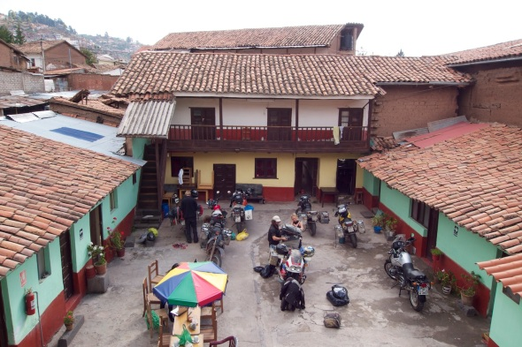 Our hostel in Cusco